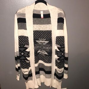 No Boundaries Knit Cardigan NWOT